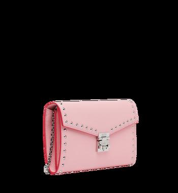 MCM Patricia Continental Brieftasche aus Studded Outline Leder Alternate View 2