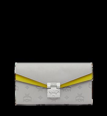 MCM Patricia Crossbody Brieftasche aus Leder mit Monogramm Alternate View