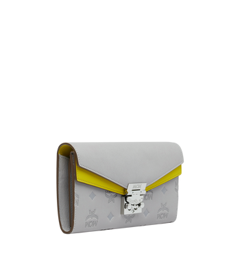 MCM Patricia Crossbody Brieftasche aus Leder mit Monogramm Alternate View 2