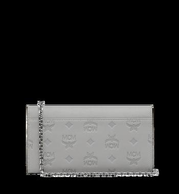 MCM Patricia Crossbody Brieftasche aus Leder mit Monogramm Alternate View 3