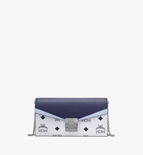 Patricia Crossbody-Brieftasche in Colorblock-Visetos