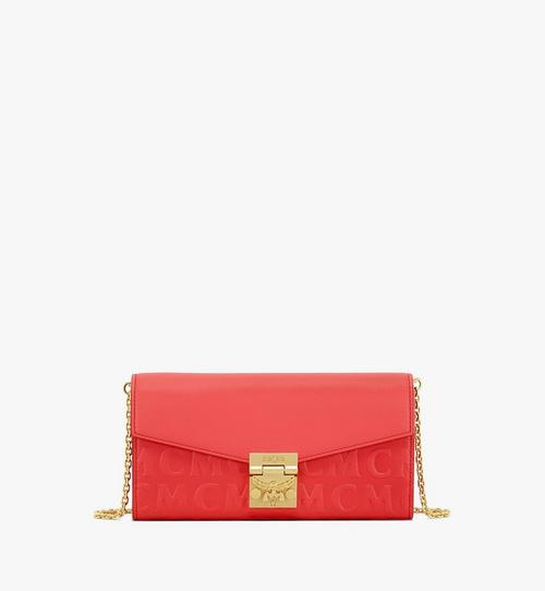 Patricia Crossbody-Brieftasche aus Leder mit MCM-Monogramm
