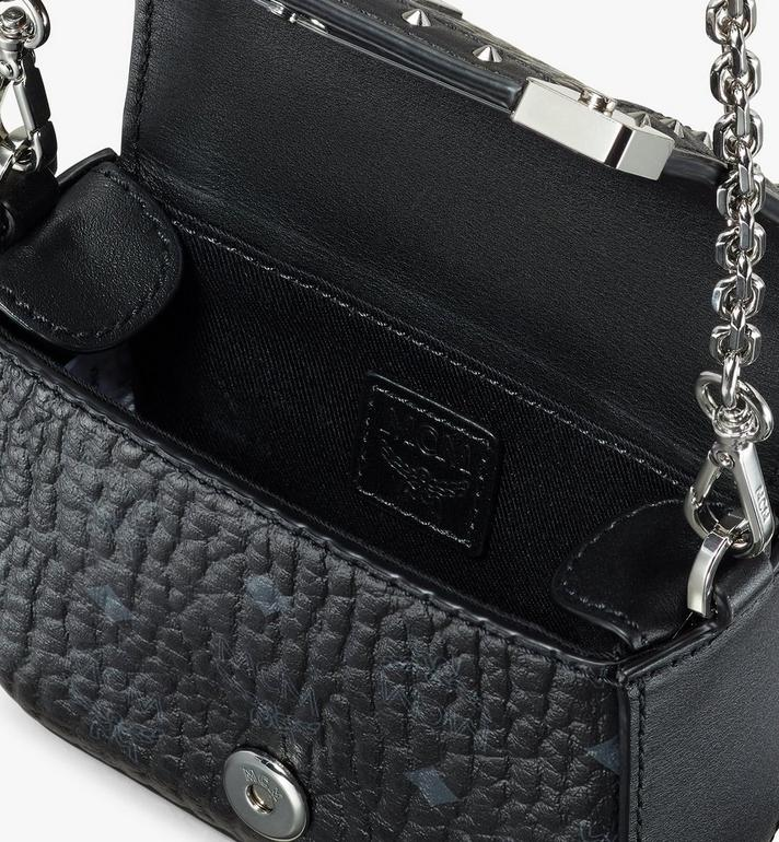 MCM Berlin Visetos 系列迷你皮夾 Black MYLASBN02BK001 Alternate View 4
