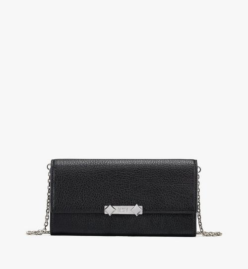 Milano Crossbody Wallet in Goatskin Leather