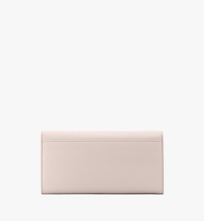 MCM Milano Crossbody Wallet in Goatskin Leather Beige MYLASDA01IH001 Alternate View 2