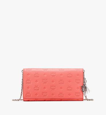 Klara Chain Wallet in Monogram Leather