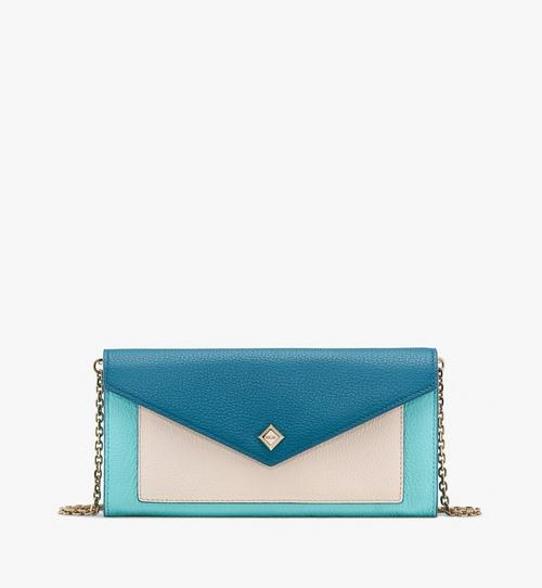 Love Letter Crossbody-Brieftasche aus Leder in Park Avenue