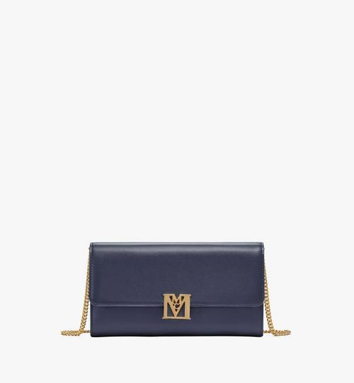 กระเป๋าสตางค์ครอสบอดี้ Mena หนังประทับลาย