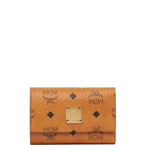 Heritage Three Fold Wallet in Visetos