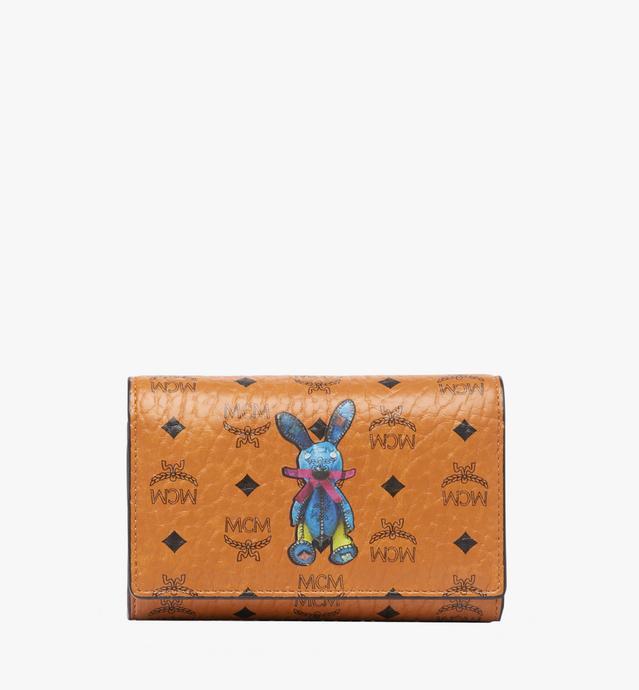 Rabbit Three Fold Wallet in Visetos