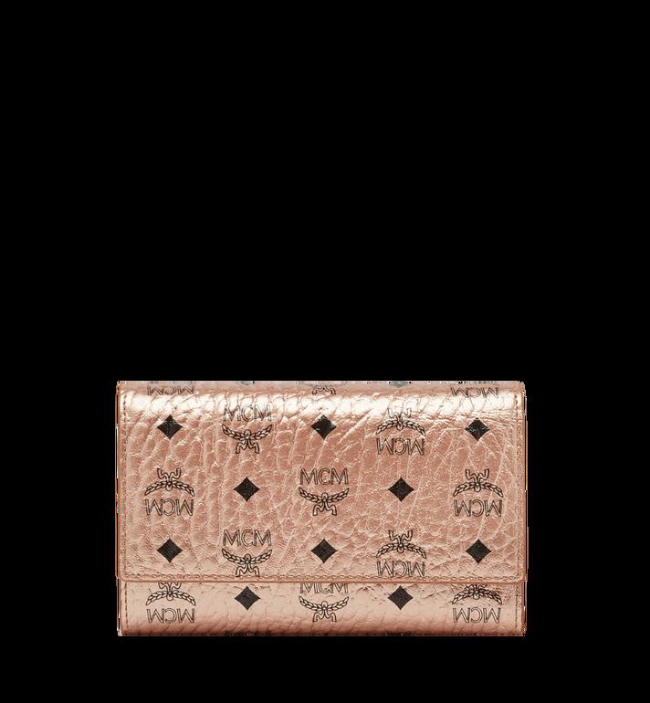 MCM Dreifach gefaltete Brieftasche aus Visetos Original Alternate View