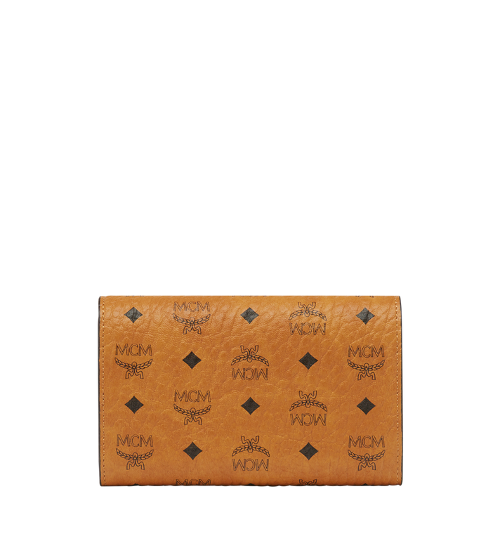 MCM Three Fold Wallet in Visetos Original Alternate View 3