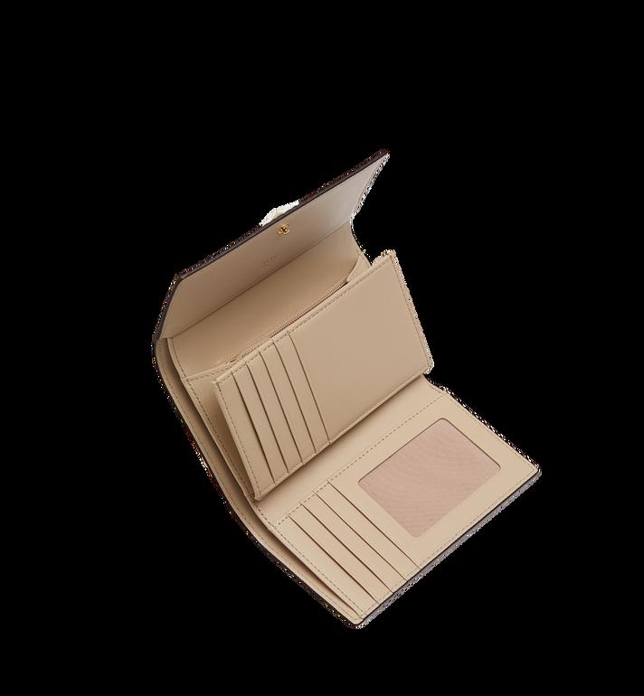 MCM Three Fold Wallet in Visetos Original Alternate View 4