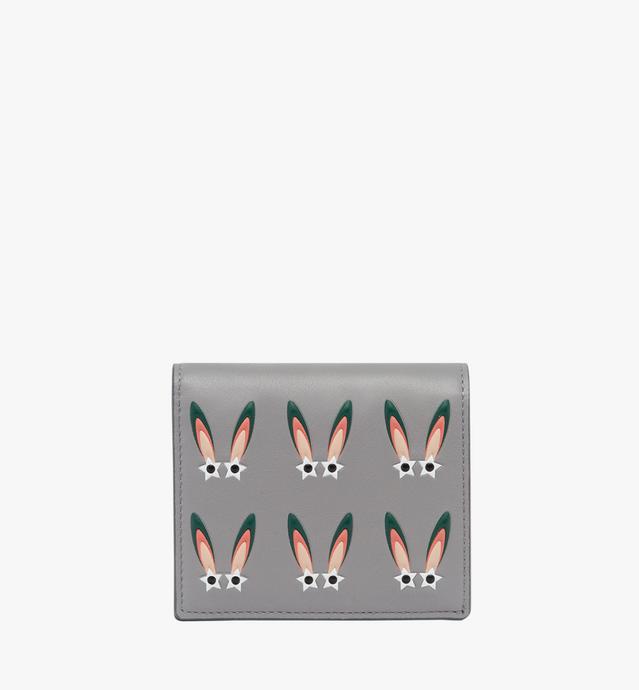 幻想兔皮革钱包