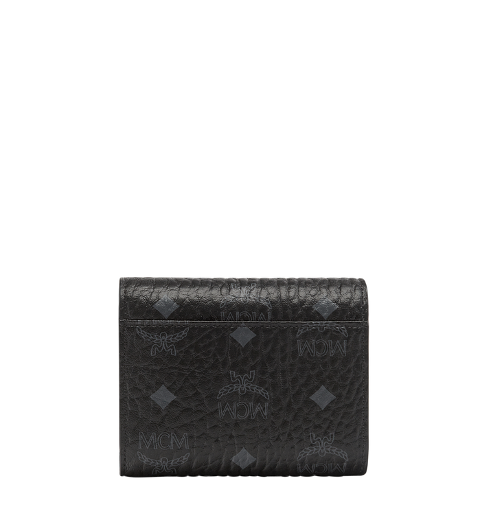 MCM Patricia Three Fold Wallet in Visetos Alternate View 3