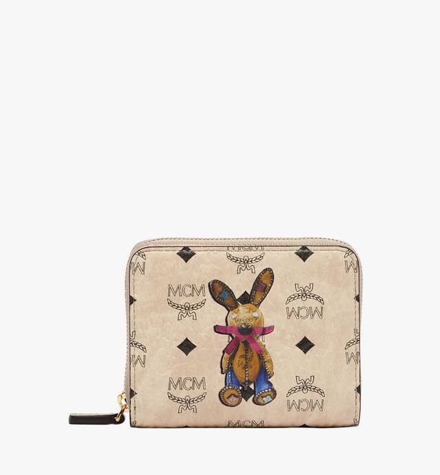 小兔子系列 Visetos 全拉链钱包