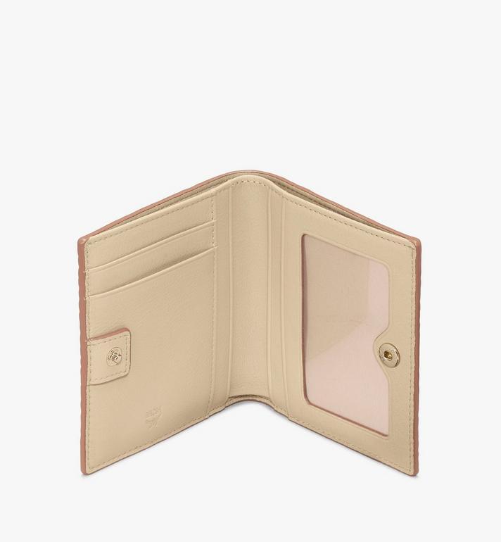 MCM Gefaltete Brieftasche in Visetos Gold MYS8AVI94T1001 Alternate View 3