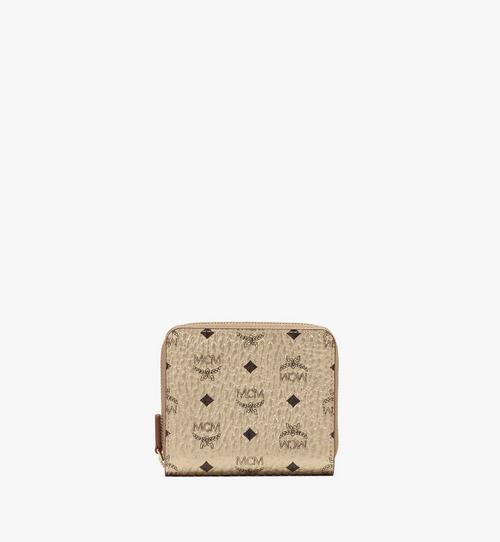 กระเป๋าสตางค์ติดซิปมินิลาย Visetos