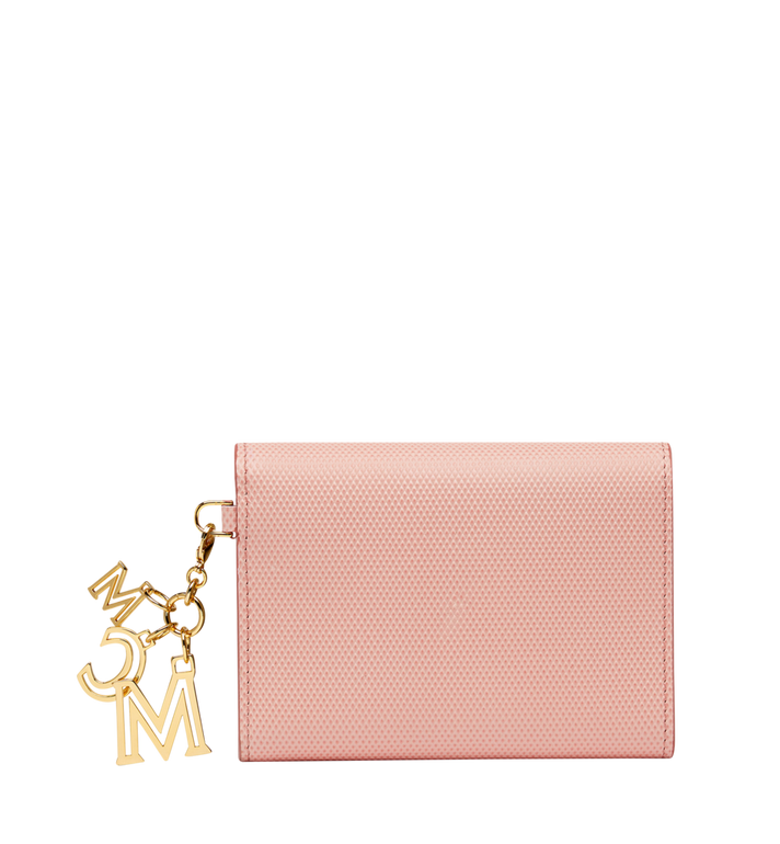 MCM Otti Charm Three Fold Wallet in Leather Alternate View 3