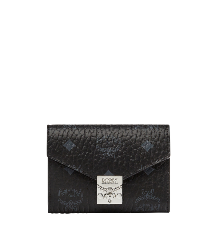 MCM Patricia dreifach gefaltete Brieftasche in Visetos Alternate View