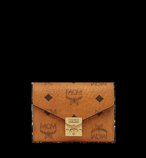 Patricia Three Fold Wallet in Visetos