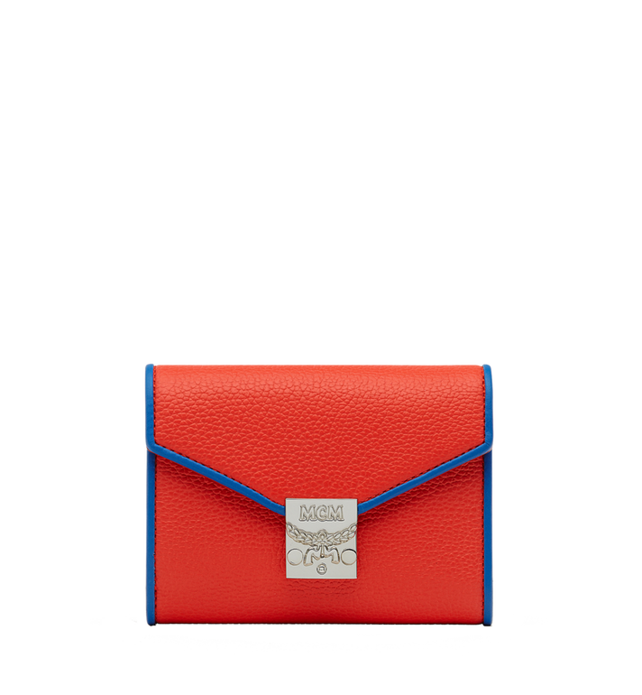 MCM Patricia Three Fold Wallet in Leather Alternate View