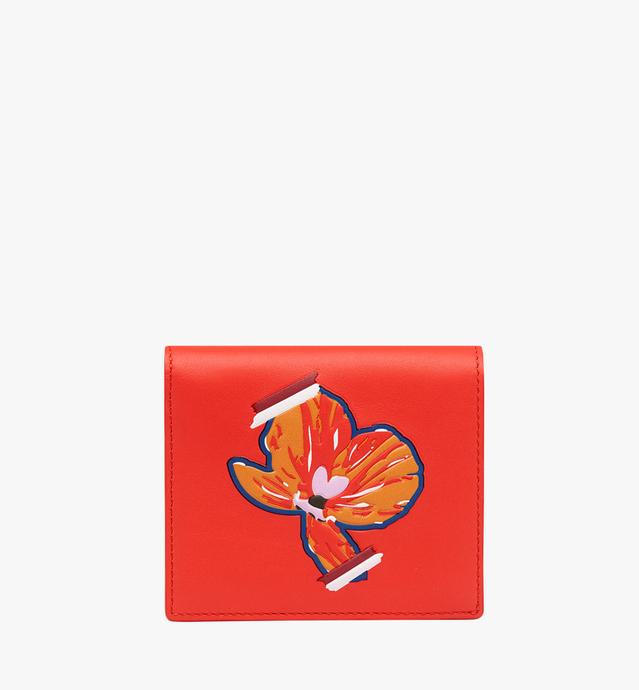Essential Two Fold Wallet in Victory Flower
