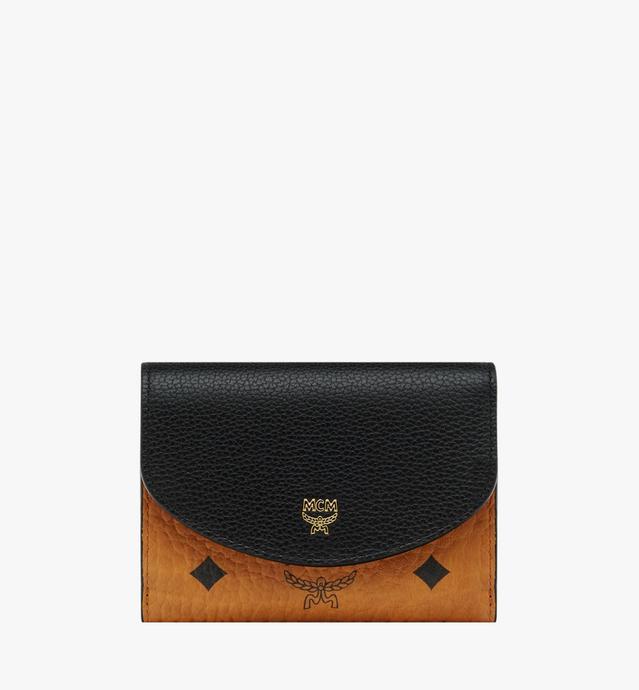 Corina dreifach gefaltete Brieftasche in Visetos Colorblock Leder
