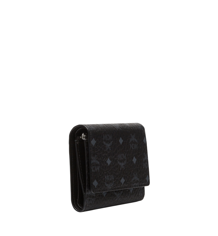 MCM Three Fold Wallet in Visetos Original Alternate View 2