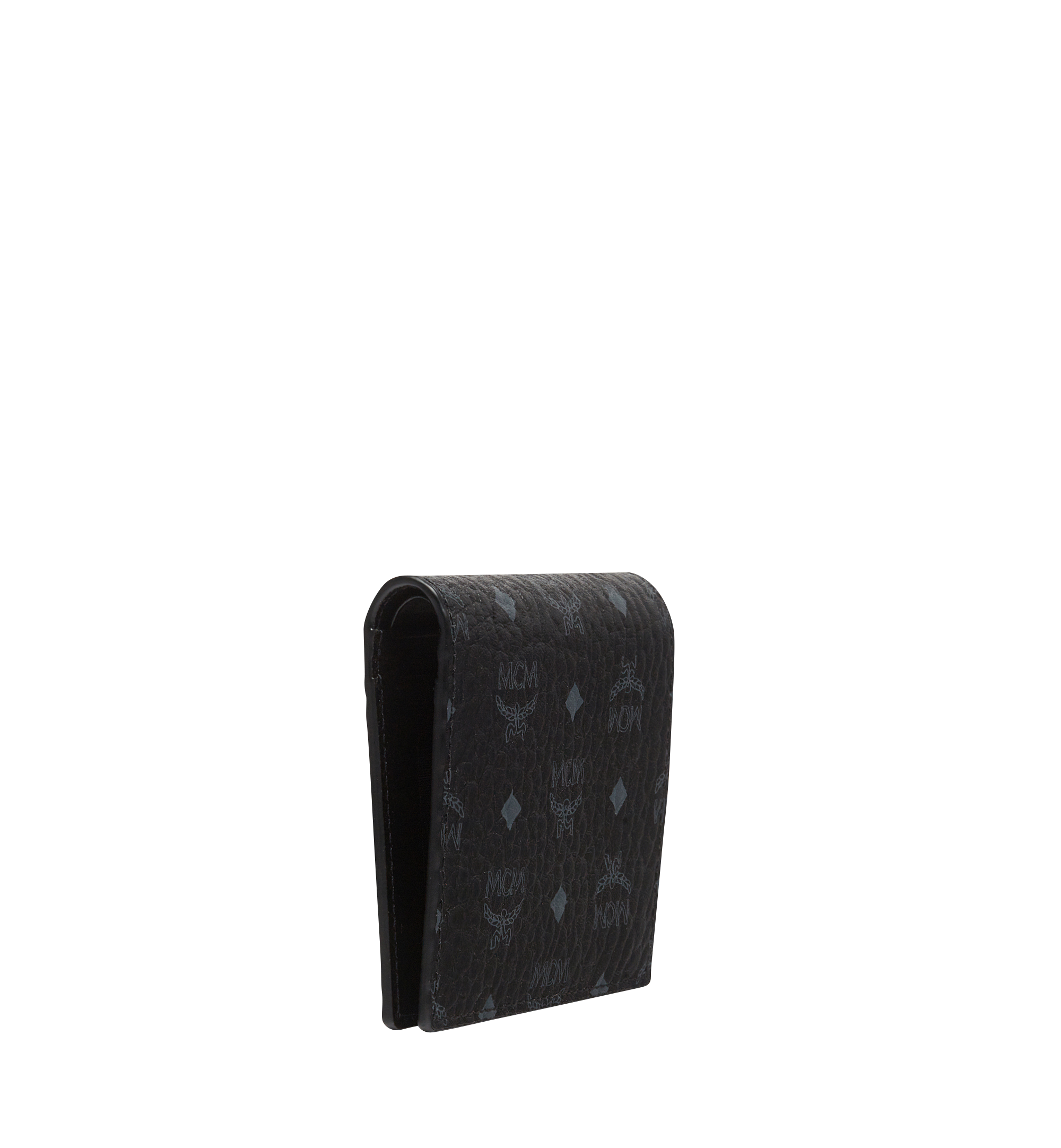 MCM Brieftasche mit Rundum-Reissverschluss in Visetos Original Black MYS8SVI94BK001 Alternate View 2
