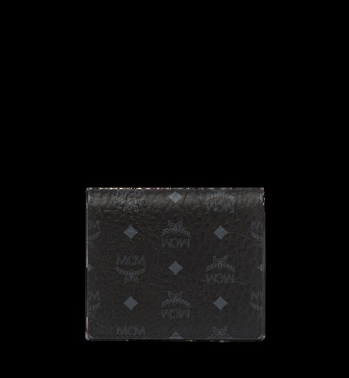 MCM Brieftasche mit Rundum-Reissverschluss in Visetos Original Black MYS8SVI94BK001 Alternate View 3