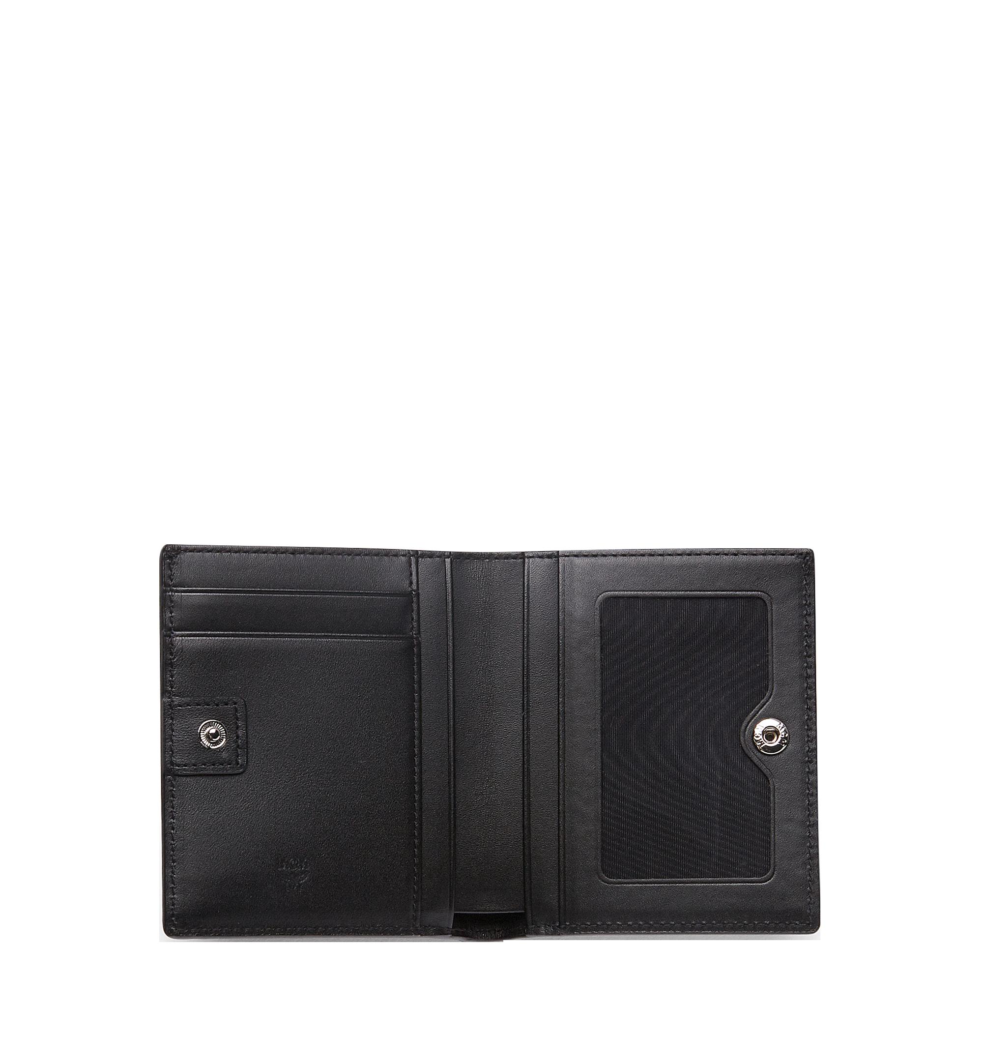 MCM Brieftasche mit Rundum-Reissverschluss in Visetos Original Black MYS8SVI94BK001 Alternate View 4