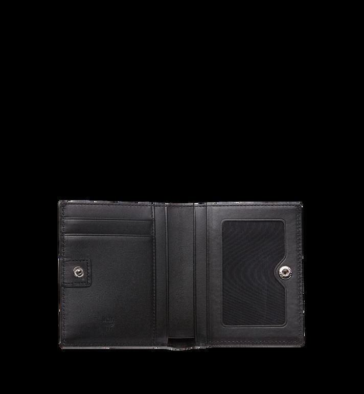 MCM Portefeuille à deux volets Color en Visetos Black MYS8SVI94BK001 Alternate View 4