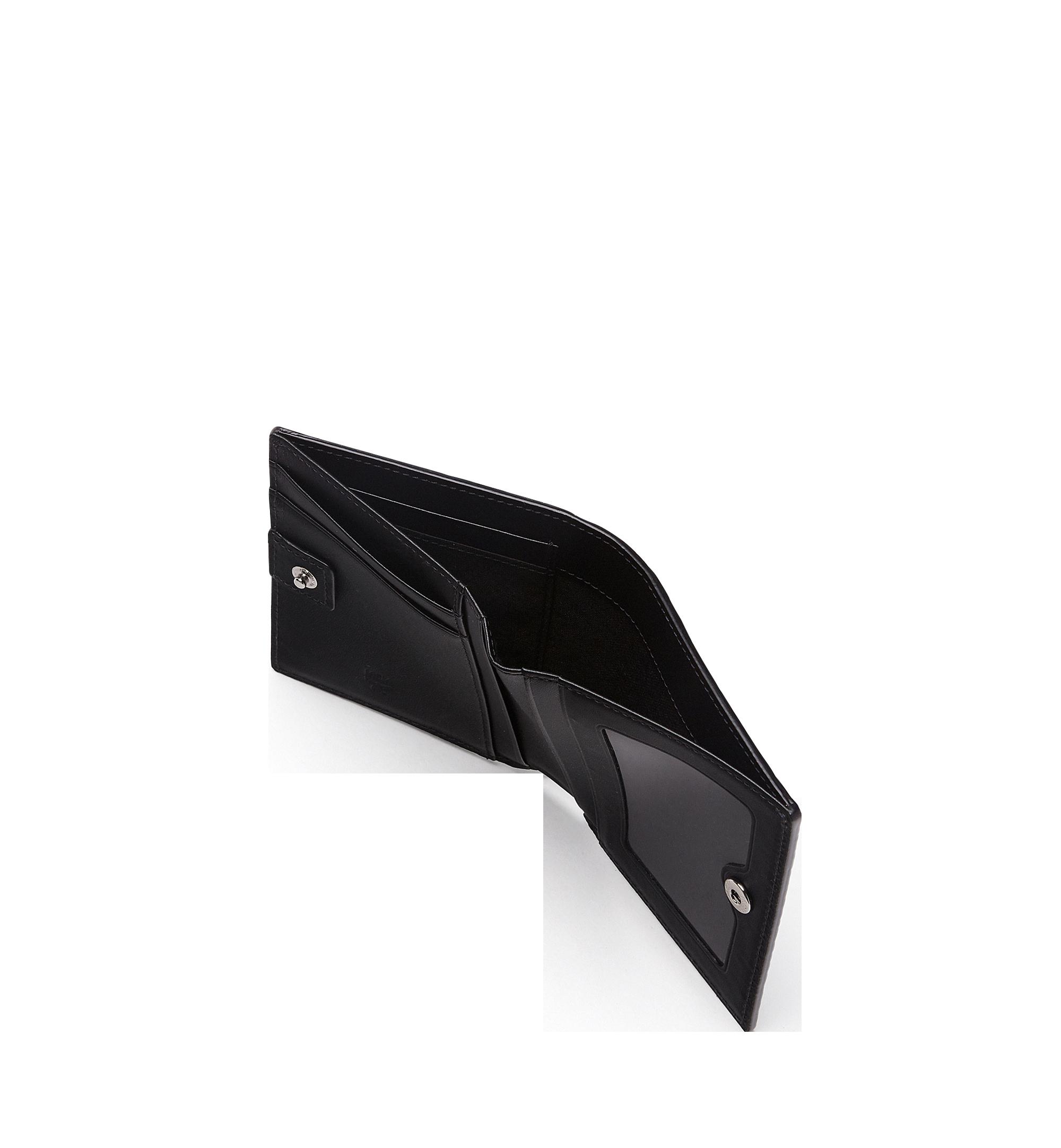 MCM Brieftasche mit Rundum-Reissverschluss in Visetos Original Black MYS8SVI94BK001 Alternate View 5