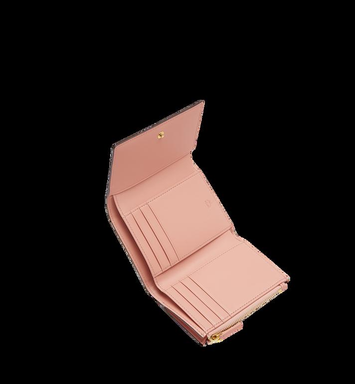 MCM Rabbit Three Fold Wallet in Visetos Beige MYS8SXL52IG001 Alternate View 4