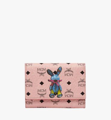 Rabbit Three Fold Wallet in Visetos