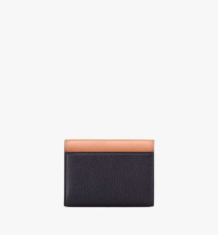 MCM Milano Three-Fold Wallet Black MYS9ADA03BK001 Alternate View 2