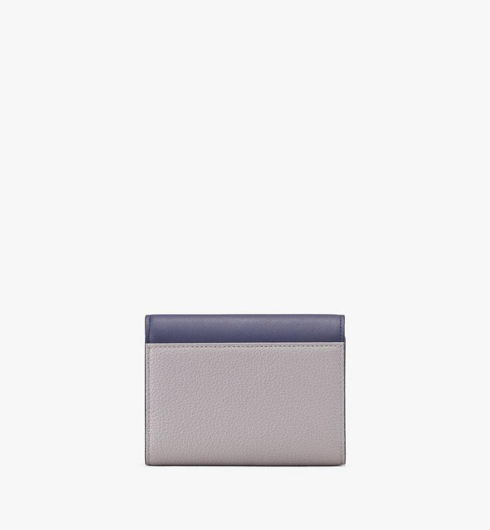 MCM Milano Three-Fold Wallet Grey MYS9ADA03EZ001 Alternate View 2