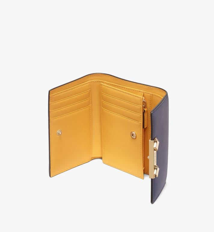 MCM Milano Three-Fold Wallet Grey MYS9ADA03EZ001 Alternate View 3