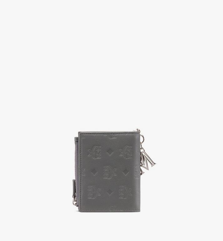 MCM Klara Two-Fold Wallet in Monogram Leather Alternate View 2