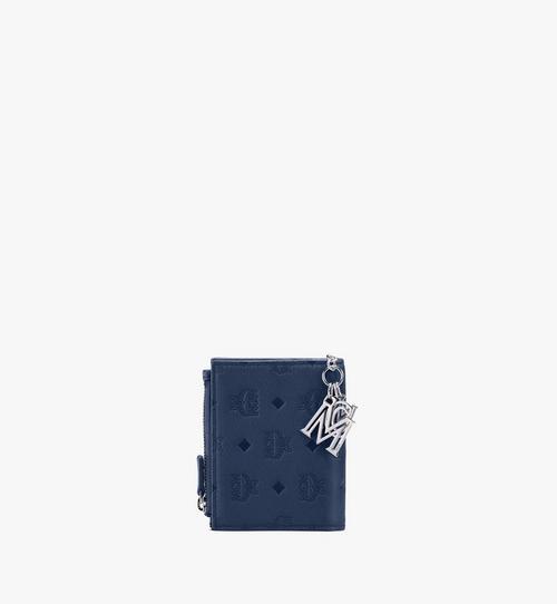 กระเป๋าสตางค์ Klara พับสองทบ หนังพิมพ์ลายโมโนแกรม