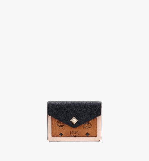 Mini portefeuille Love Letter en cuir color-block