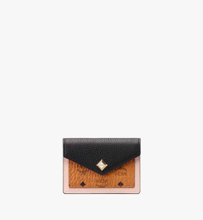 MCM Love Letter Wallet in Colorblock Visetos Alternate View