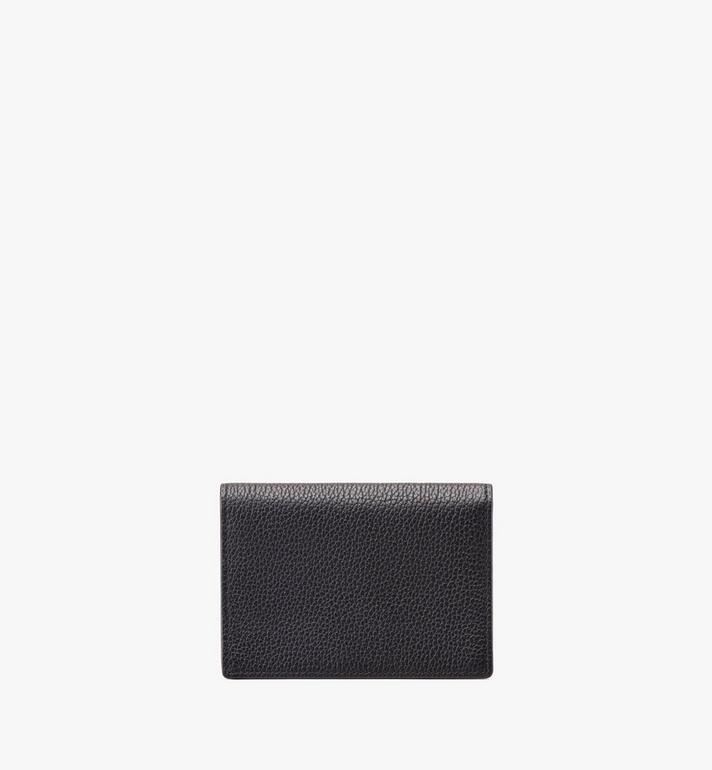 MCM Love Letter Wallet in Colorblock Visetos Black MYS9ALV03CB001 Alternate View 2