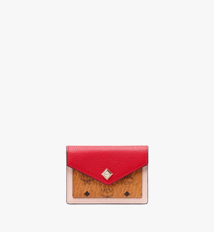 MCM Love Letter Wallet in Colorblock Visetos Alternate View