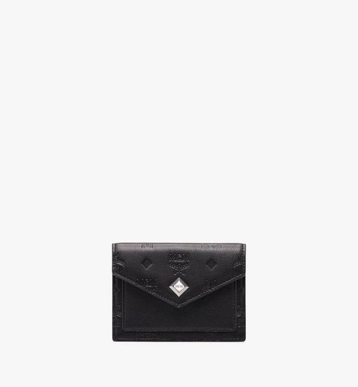 MCM Love Letter Wallet in Monogram Leather Alternate View