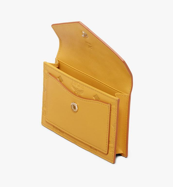 MCM Love Letter Wallet in Monogram Leather Yellow MYS9ALV13YJ001 Alternate View 3