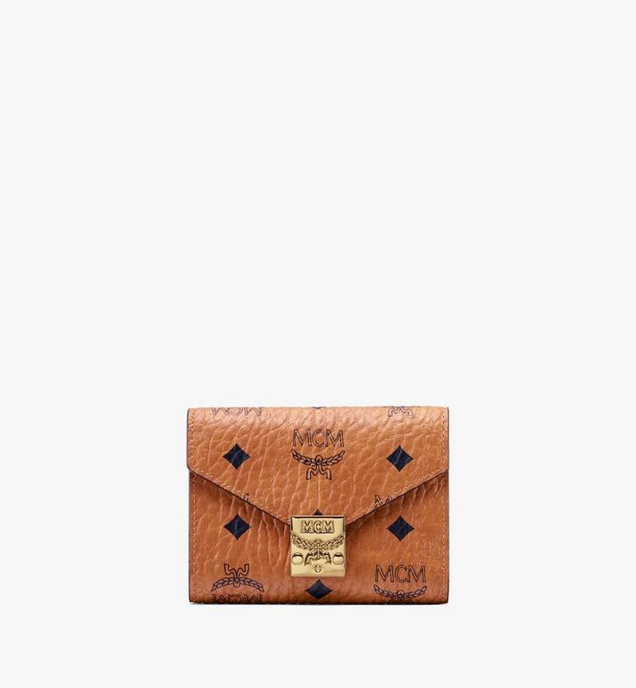 MCM Patricia Three-Fold Wallet in Visetos Alternate View