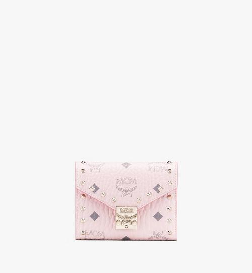 Visetos 皮革的 Patricia 三折式錢包