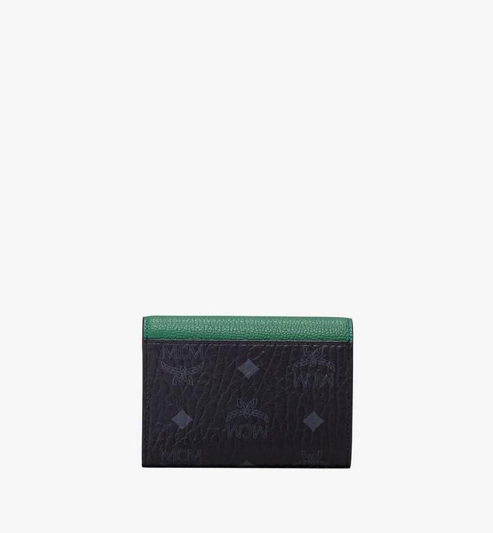 MCM Patricia Three-Fold Wallet in Colorblock Leather Alternate View 2